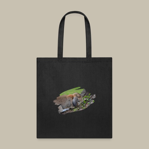 French Lop Brush Stroke - Tote Bag