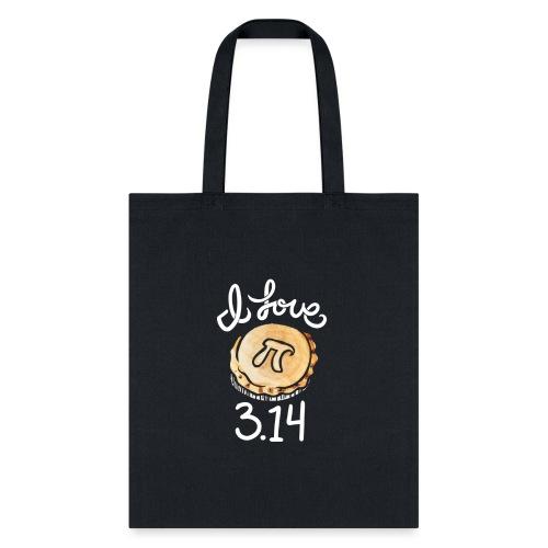 I love Pi - Tote Bag