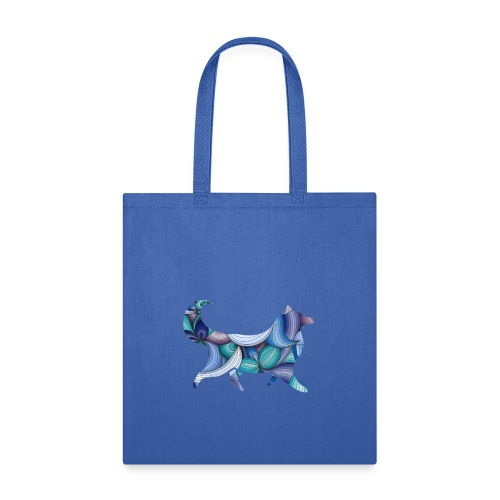 Psychedelic Collie - Tote Bag