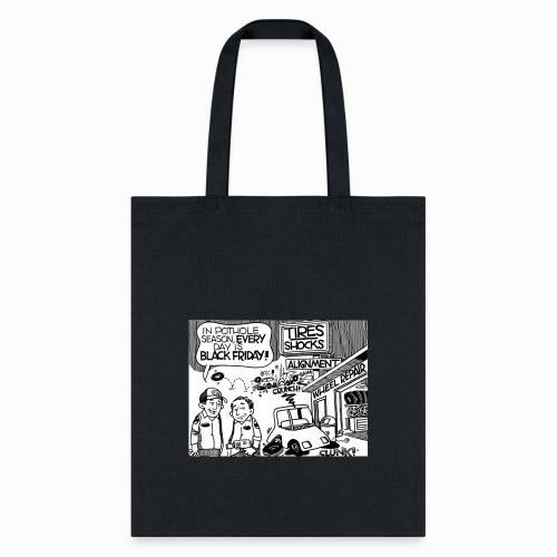 Pothole Season - Tote Bag