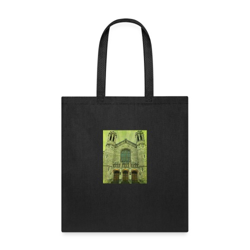 Green gothic cathedral - Tote Bag