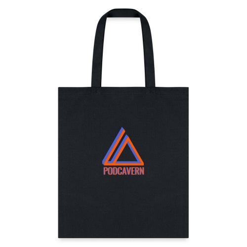 PodCavern Logo - Tote Bag