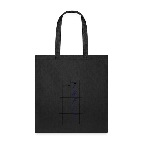 Taxation is Theft Crossword - Tote Bag