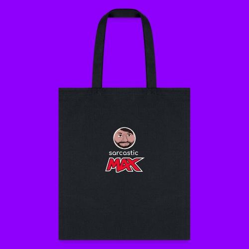 SarcasticMax cola beverage logo - Tote Bag