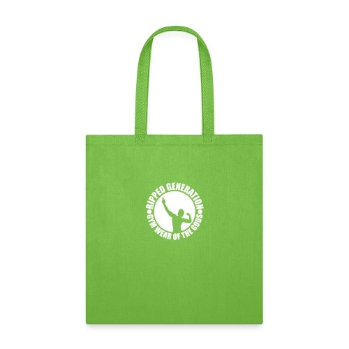 Ripped Generation Gym Wear of the Gods Badge Logo - Tote Bag