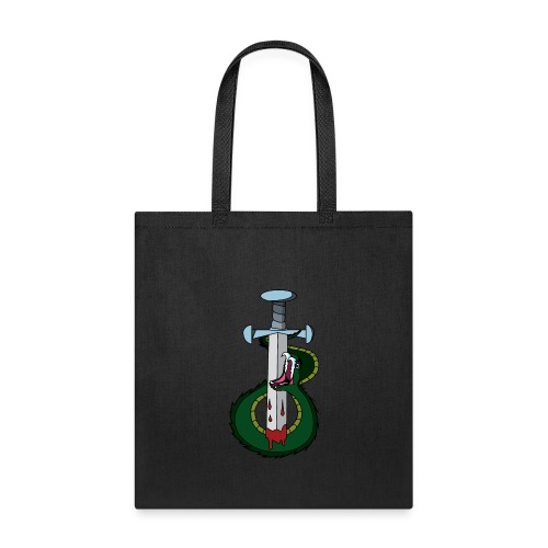 Snake and the sword - Tote Bag