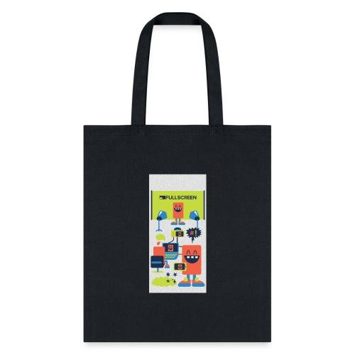 iphone5screenbots - Tote Bag
