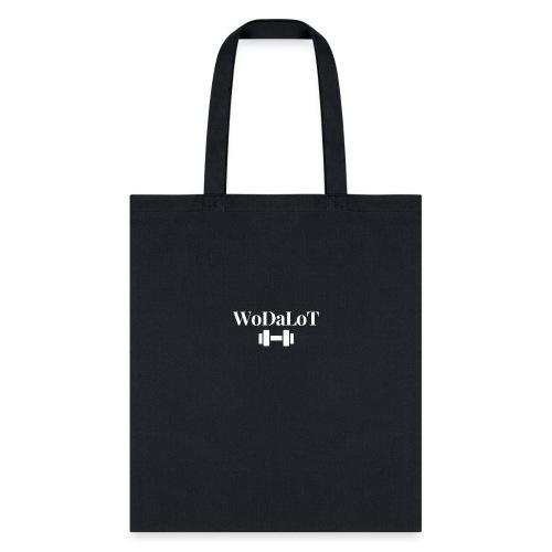 WoDaLoT white logo - Tote Bag