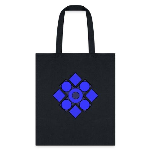 Geometric Cerulean - Tote Bag