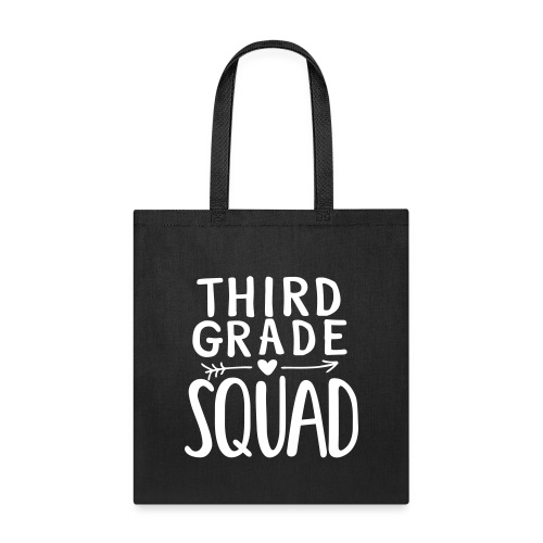 Third Grade Squad Teacher Team T-Shirts - Tote Bag