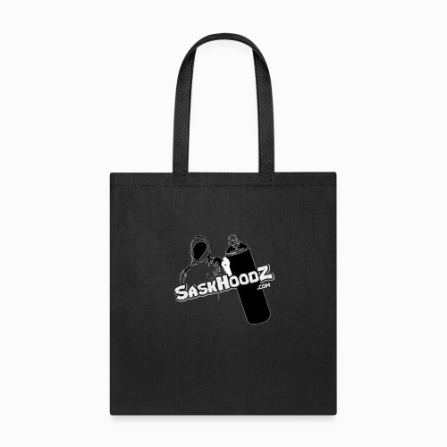 saskhoodz logo black - Tote Bag