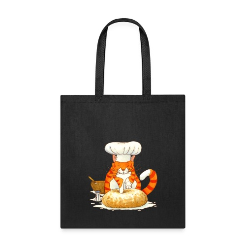 Chef Cat by Rachael B - Tote Bag