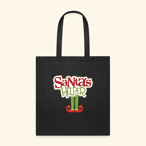 ELF FEET Santa's Helper Christmas tee - Tote Bag