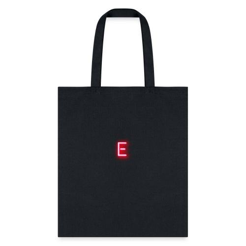 Neon E - Tote Bag