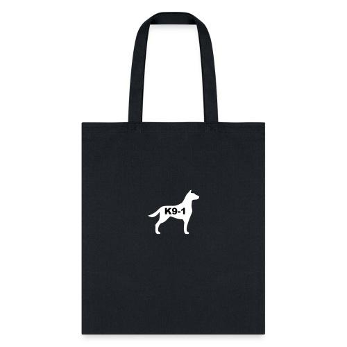 k9-1 Logo Large - Tote Bag