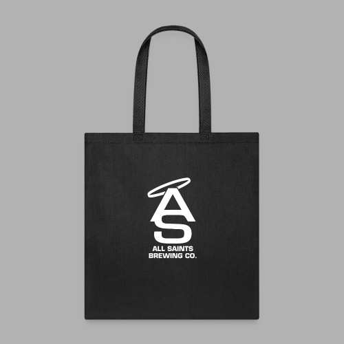 AS Logo white - Tote Bag