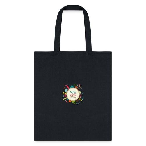 logo welovetravel - Tote Bag