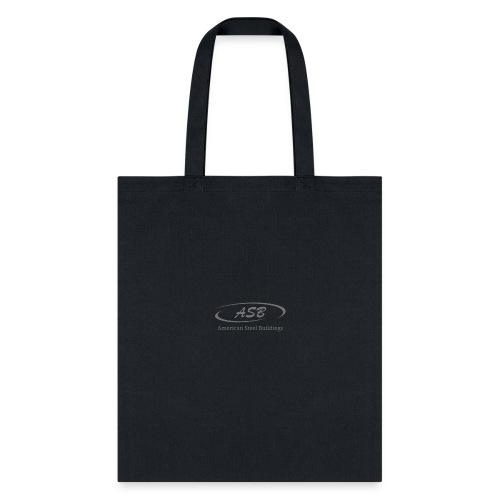 SmallLogoBW initials - Tote Bag
