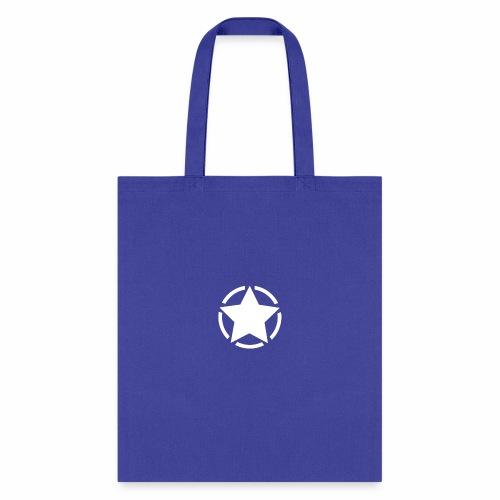 Staff starr 5pt white 14 16 - Tote Bag