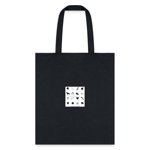 horse tack shirt - Tote Bag