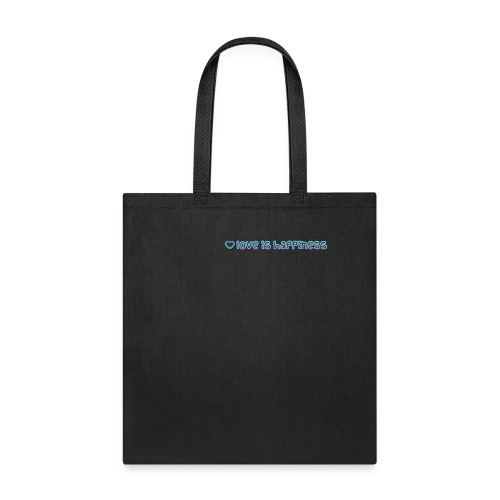 love it happiness - Tote Bag