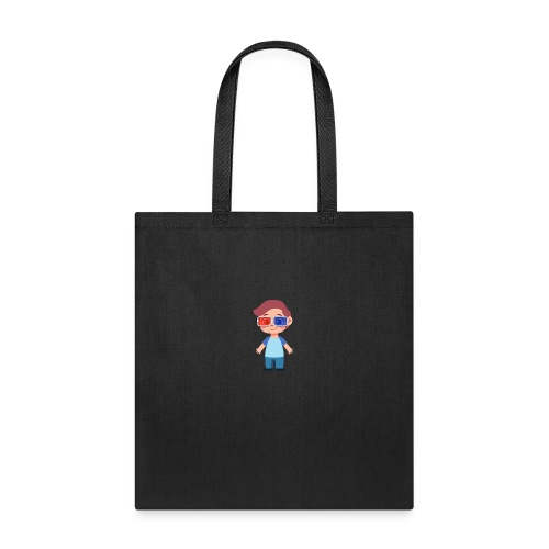 Boy with eye 3D glasses - Tote Bag