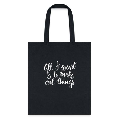 Cool Things White - Tote Bag