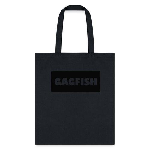 GAGFISH BLACK LOGO - Tote Bag