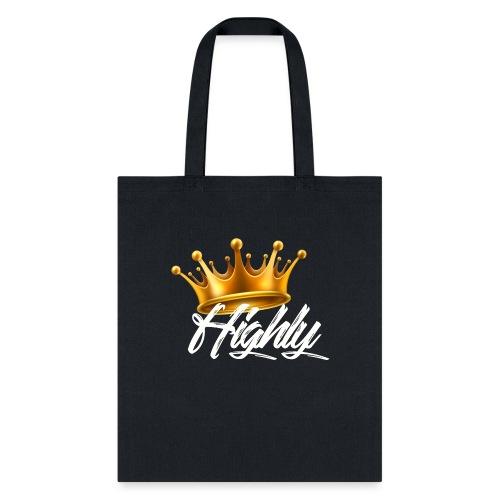 Highly Crown Print - Tote Bag