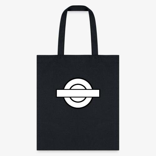 Black and White London Underground - Tote Bag