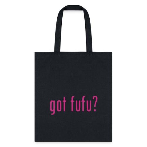 gotfufu-black - Tote Bag