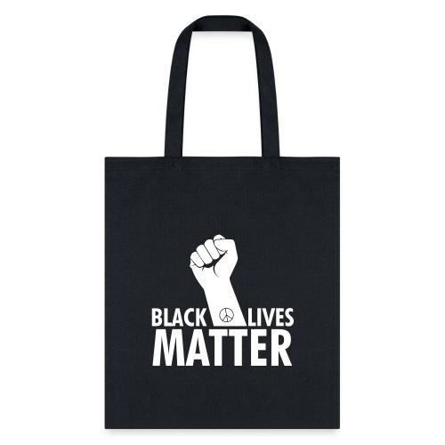 Black lives matter raised fist - Tote Bag
