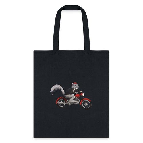 Speedbike Squirrel - Tote Bag