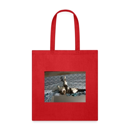 Lol da upside down fat cat - Tote Bag