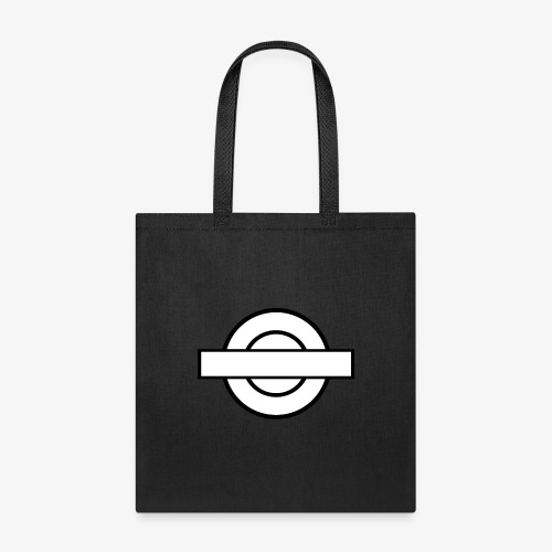 Black and White London Underground - Tote Bag