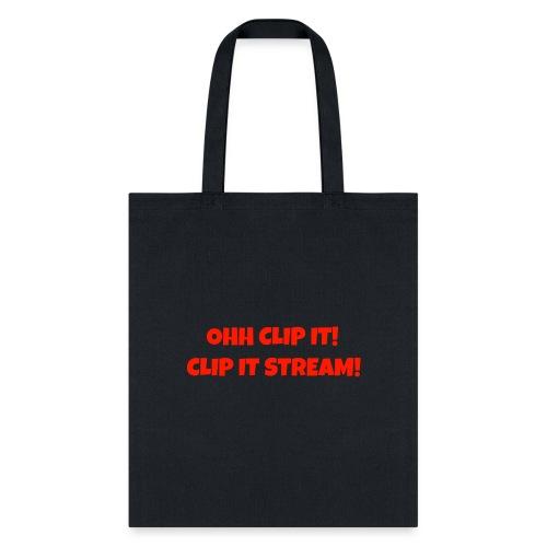 OHH CLIP IT Design - Tote Bag