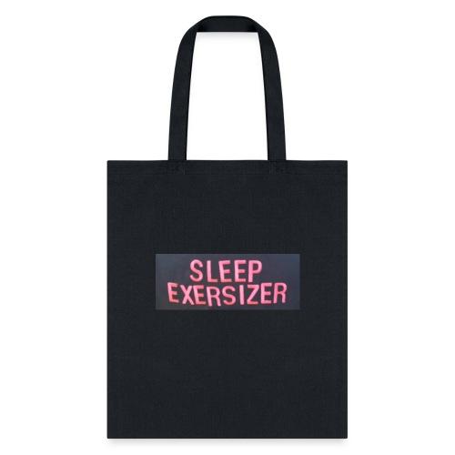 Sleep Exersizer Words - Tote Bag