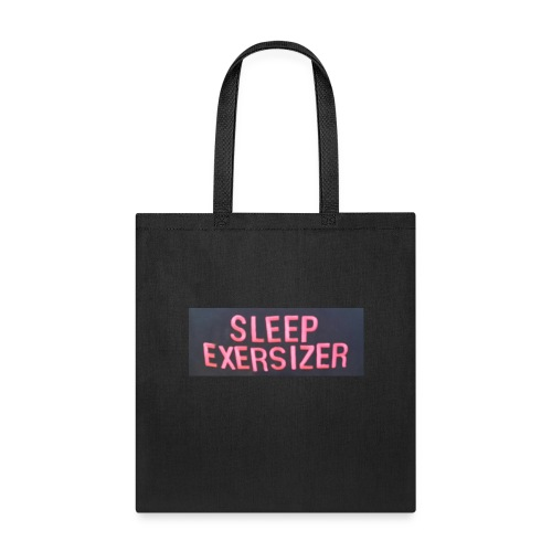 Sleep Exersizer Words - Tote Bag
