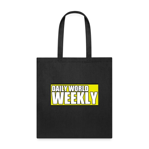 daily world weekly banner short - Tote Bag