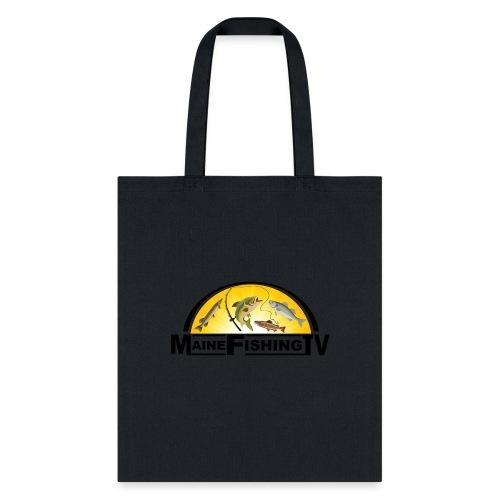 Maine Fishing TV Logo - Tote Bag