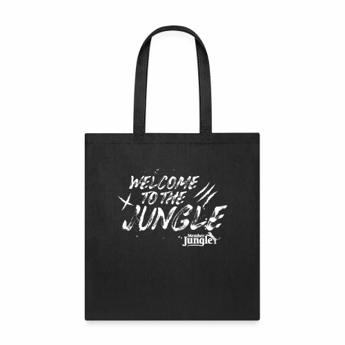 Welcome to the Member Jungle (White) - Tote Bag