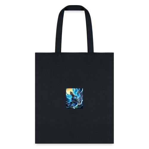 Blue lighting dragom - Tote Bag