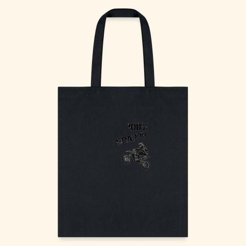 100% BRAPPP (Black and White) - Tote Bag