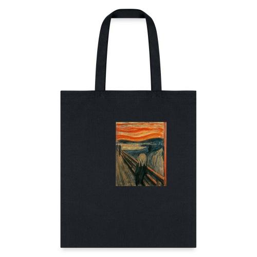 The Scream (Edvard Munch) - Tote Bag
