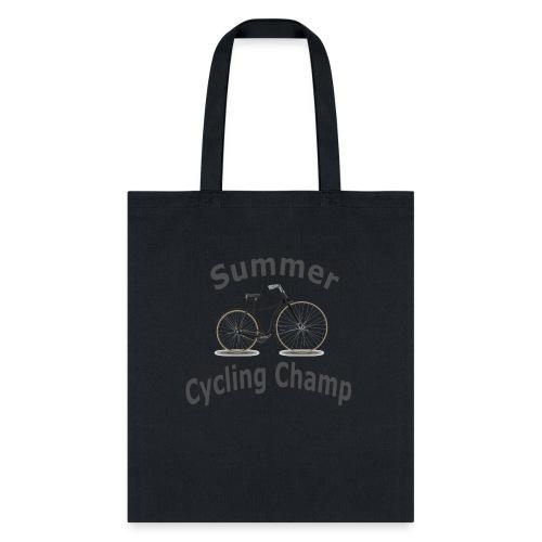 Summer Cycling Champ - Tote Bag