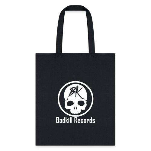 Badkill Logo White - Tote Bag