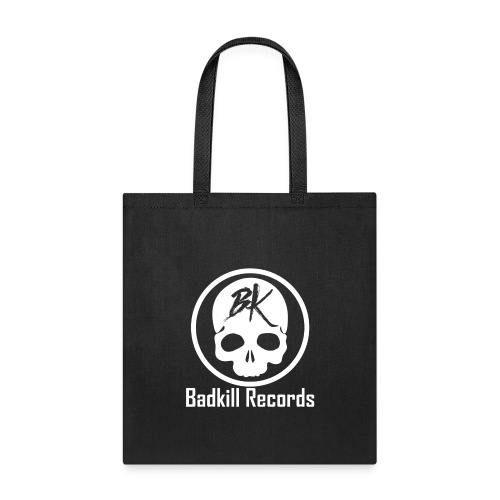 Badkill Logo White - Tote Bag