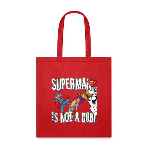 SUPES IS NOT A GOD - Tote Bag