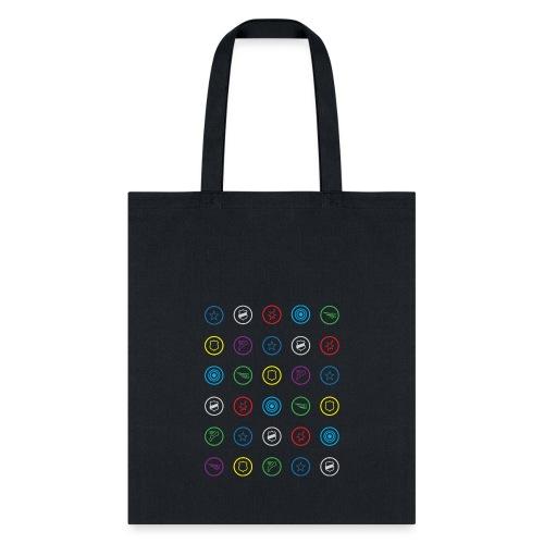 HeroClix Symbols Color - Tote Bag