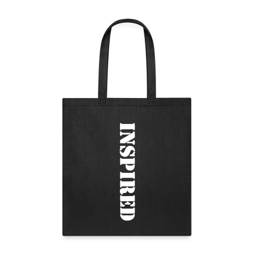 INSPIRED white - Tote Bag